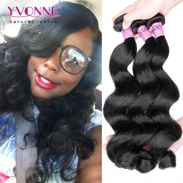 3pcslot Loose Wave Brazilian Virgin Hairtop Quality Human Hair