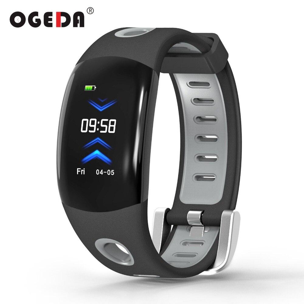 OGEDA Smart Band DM11 3D Dynamic UI Fitness Tracker Bracelet Heart Rate Monitor Wristband IP68 Waterproof Intelligent Watch