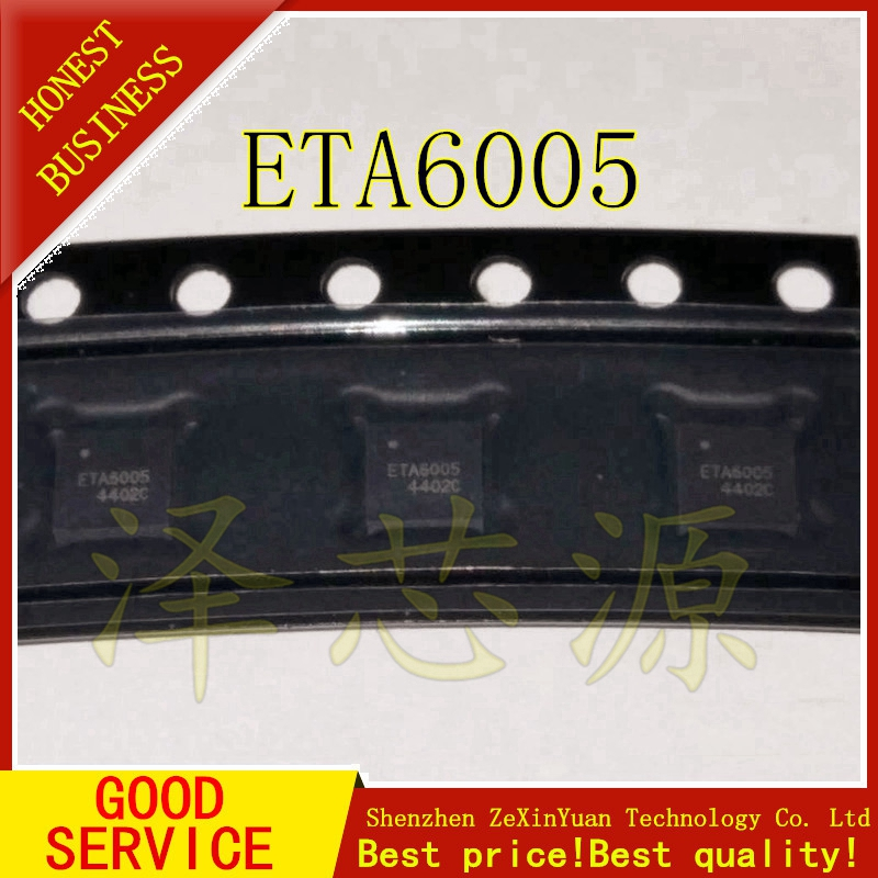 2PCS/LOT ETA6005 6005 NEW QFN IC