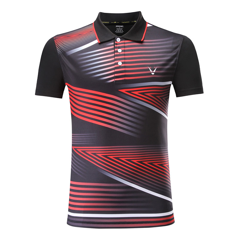The new summer clothing badminton wicking fast dry-pong Tennis Men short-sleeved shirt Sports Free Shipping