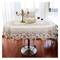 Европейский садовый стол с бежевой цветочной вышивкой  свадебные скатерти  прямоугольные/круглые/овальные декоративные скатерти для кухни