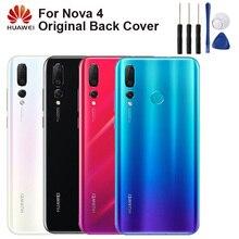Huawei Original Back Cover Case Battery Housing For NOVA 4 NOVA4 Rear Glass