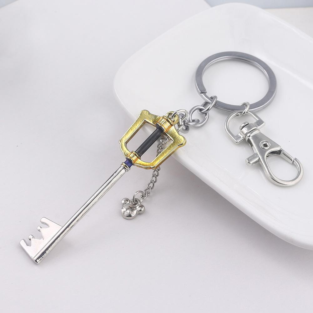 2019 New Personalized Keychain Hand Keychain Kingdom Hearts Heart Hearts Keyring Keychain Wholesale  Key Ring Wrist Strap
