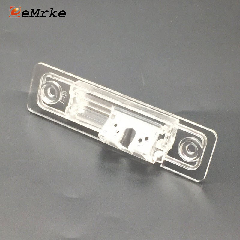 EEMRKE cámara de visión trasera soporte para Opel Astra L48/Corsa F08 F68/Omega 21 22 23 25 26 matrícula vivienda montaje