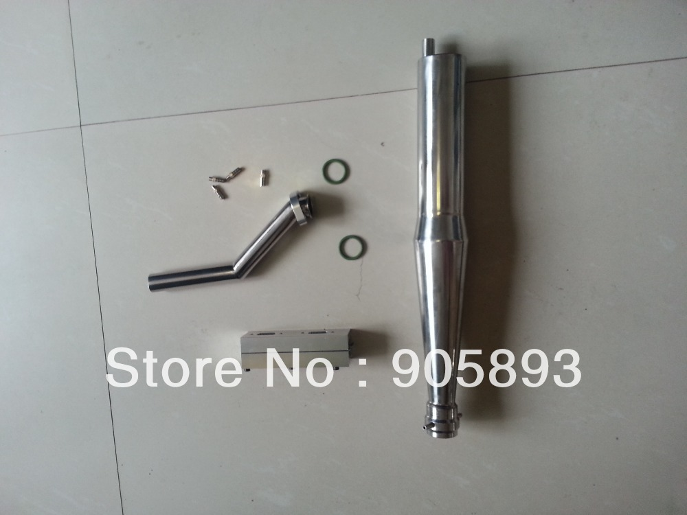 Exhaust Pipe/Tuned Pipe for RC Gas Model boat/ for 52cc twin-cylinder R/C Boat gas Engine(just the pipe)+ Free shipping!!