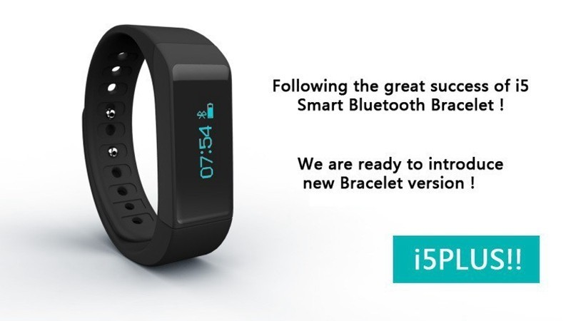 SURMOS I5 Plus Smart Bracelet Bluetooth 4 0 Waterproof Touch Screen Fitness Tracker Health Wristband Sleep