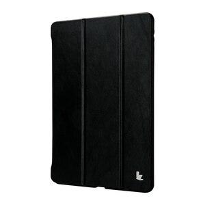 Image 3 - Jisoncase cuir Smart Cover pour iPad Pro 10.5 2017 étui en cuir magnétique couverture arrière étui pour tablette pour Apple iPad Pro 10.5 pouces