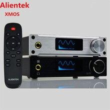 Alientek D8 Full Puro Amplificador de Auriculares de Audio Digital de Entrada USB/XMOS/Coaxial/Óptica/AUX 80 W * 2 24Bit/192 KHz DC28V Clase d Potencia