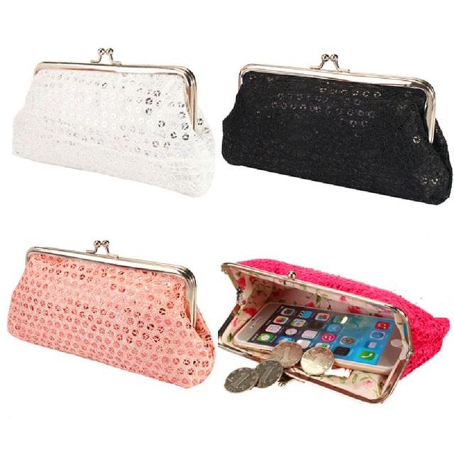 Osmond Hot Handbag Vintage Womens Envelope Bag Day Clutch Long Wallet Purses Hasp Phone Evening Bags Party 4 Color Trend Style
