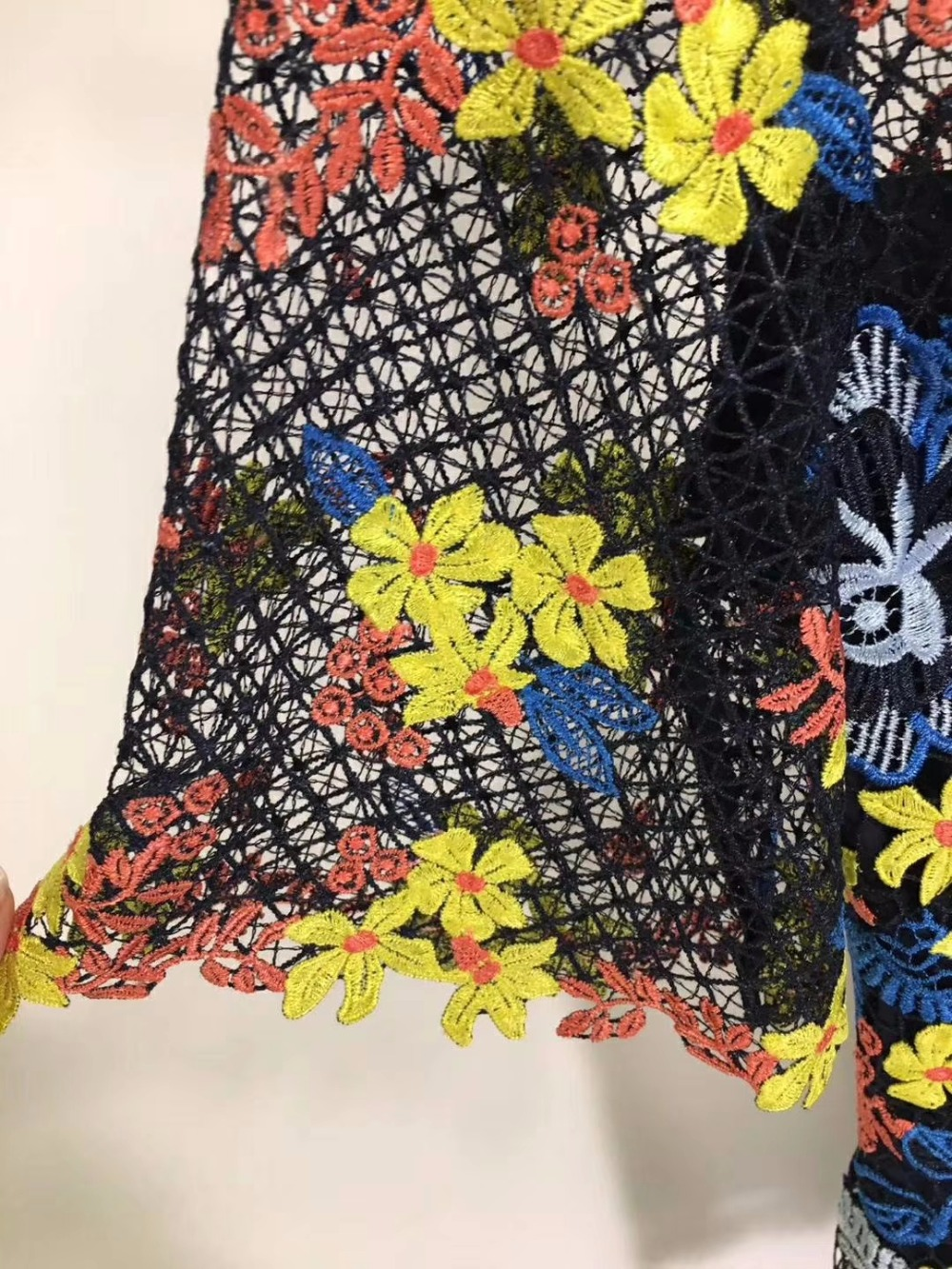 Vestisdo 2018 Robe Crochet Mode Silm De Fleur D'été Sexy Flesta Boho Vadim Nu Moulante Nouvelle La Bal Robes Dos wpqfwR
