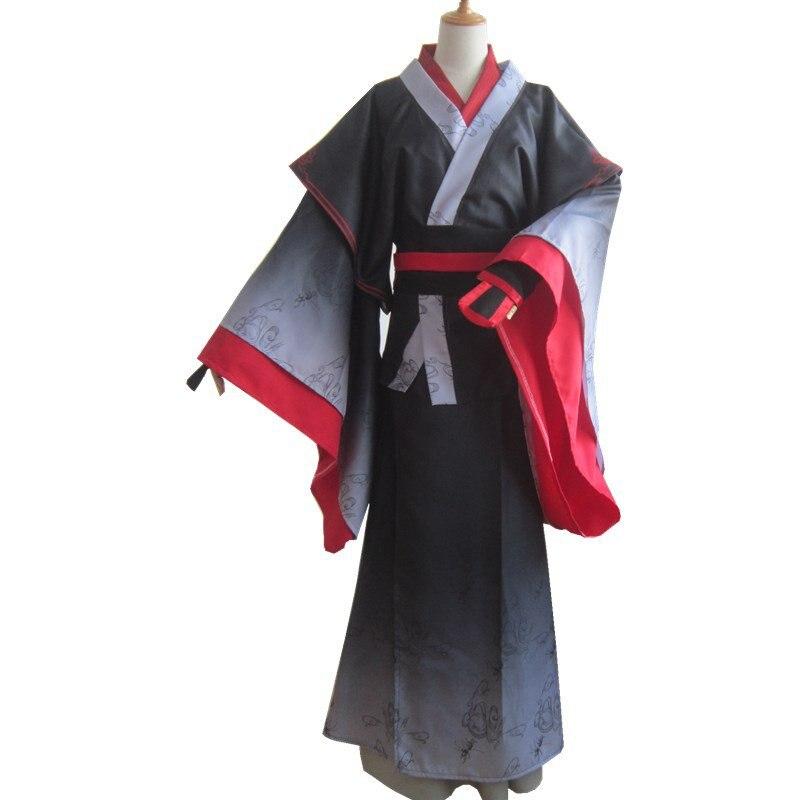 The Yiling Patriarch Mo Xuanyu Wei Wuxian Cosplay Grandmaster of Demonic Cultivation Costume Mo Dao Zu Shi Costume Unisex