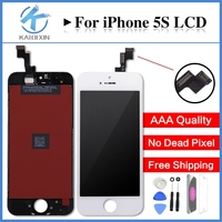 1PCS 100 All Test No Dead Pixel AAA Quality LCD For IPhone 5S LCD Screen Display