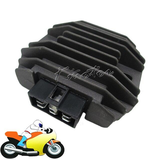 12v Black Motorcycle Voltage Regulator Rectifier for Kawasaki ZXR400 L ZR750 Zephyr  ZZR600  VN1500 ZXR400 H1/H2 ZZR600 ZX600D