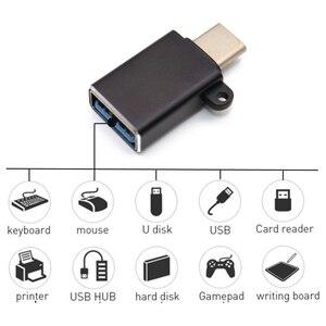 Image 2 - TYPE C Male naar USB Vrouwelijke Adapter Kabel Converter Voor USB C naar USB (Man vrouw) charger Plug OTG Adapter Converter