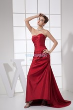 free shipping new fashion brides maid dresses 2014 plus size vestidos formales short party prom gown fuschia bridesmaid