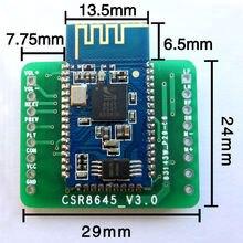 1pcs Bluetooth power amplifier board module 4 audio receiver APTX CSR8645 dual 5W speaker audio amplifier