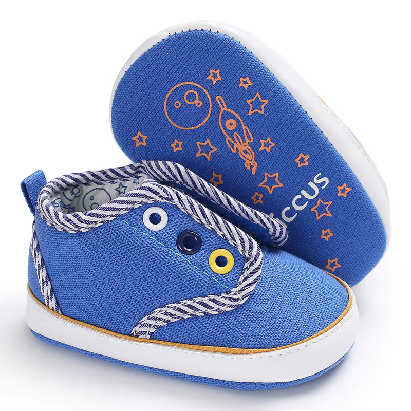 Raise Young Newborn Baby Boy First Walkers Brand Soft Soles Non-slip Toddler Baby Boy Casual Shoes Infant Sneakers