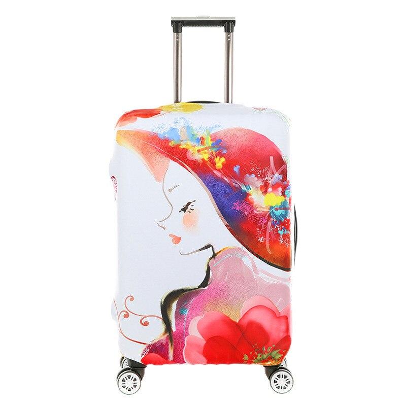 ᐂElástico trolley de viaje para 18-32 pulgadas equipaje engrosada ...