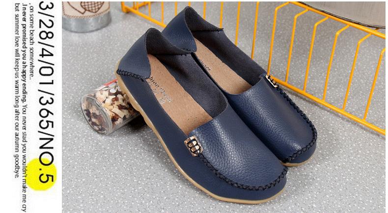 AH912 (17) women's loafers shoe