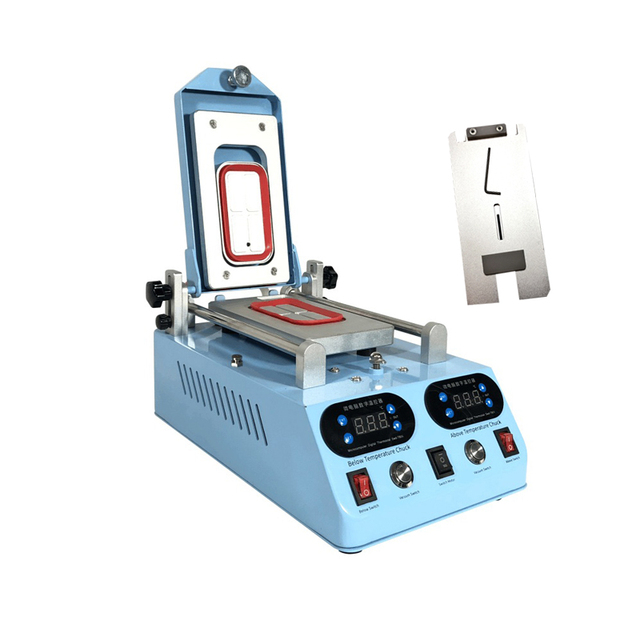 Genuine TBK-268 Separator Machine Automatic LCD Screen Frame Bezel Heating For Flat Curved Screen Glass Middle Frame Separate 1