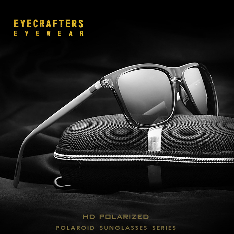 Aluminum+TR90 Men/Women Brand Designer Unisex Retro Sunglasses Polarized Lens Vintage Eyewear Driving Sun Glasses