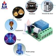 Diymore DC 12 в 1 канал реле 315 МГц/433 МГц беспроводной РЧ релейный модуль пульт дистанционного управления приемник плата для Arduino MCU