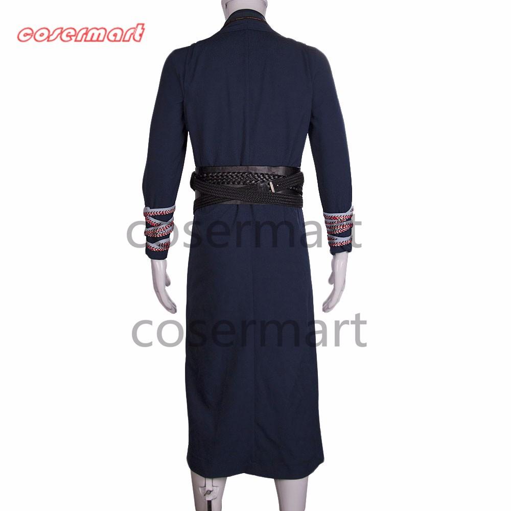 2016 Marvel Movie Doctor Strange Costume Cosplay Steve Full Set Costume Robe Halloween Costume (10)_