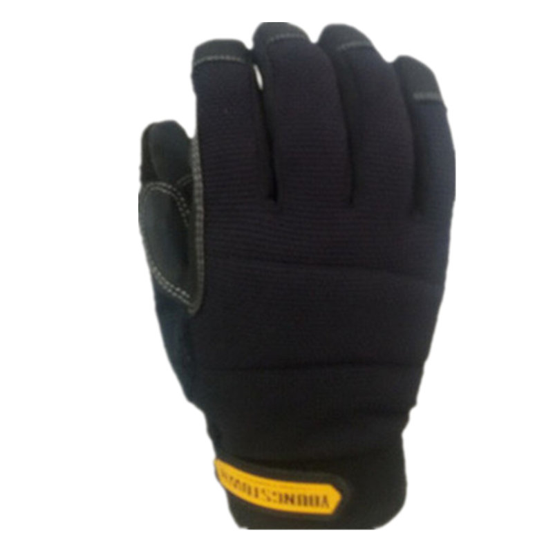 100% Waterproof And Windproof, Durable, Dexterous, Comfortable And Warm Winter Work Glove(Black,X-Large)