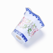 Jingdezhen CHina Embossed Kung Fu Tea Cup Blue And White Porcelain Fair Mug Chinese Kung Fu Tea Sets Vintage Ceramic Teacups стоимость
