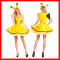 Pokemon Pikachu Costumes Women Cosplay Adult Animal Costume Fancy Sexy Dress Clubwear Party Wear Christmas halloween Costume