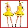 Pokemon Pikachu Trajes Cosplay Adultos Animal Sexy Disfraces Fancy Dress Clubwear Desgaste Del Partido de Navidad de Disfraces de halloween