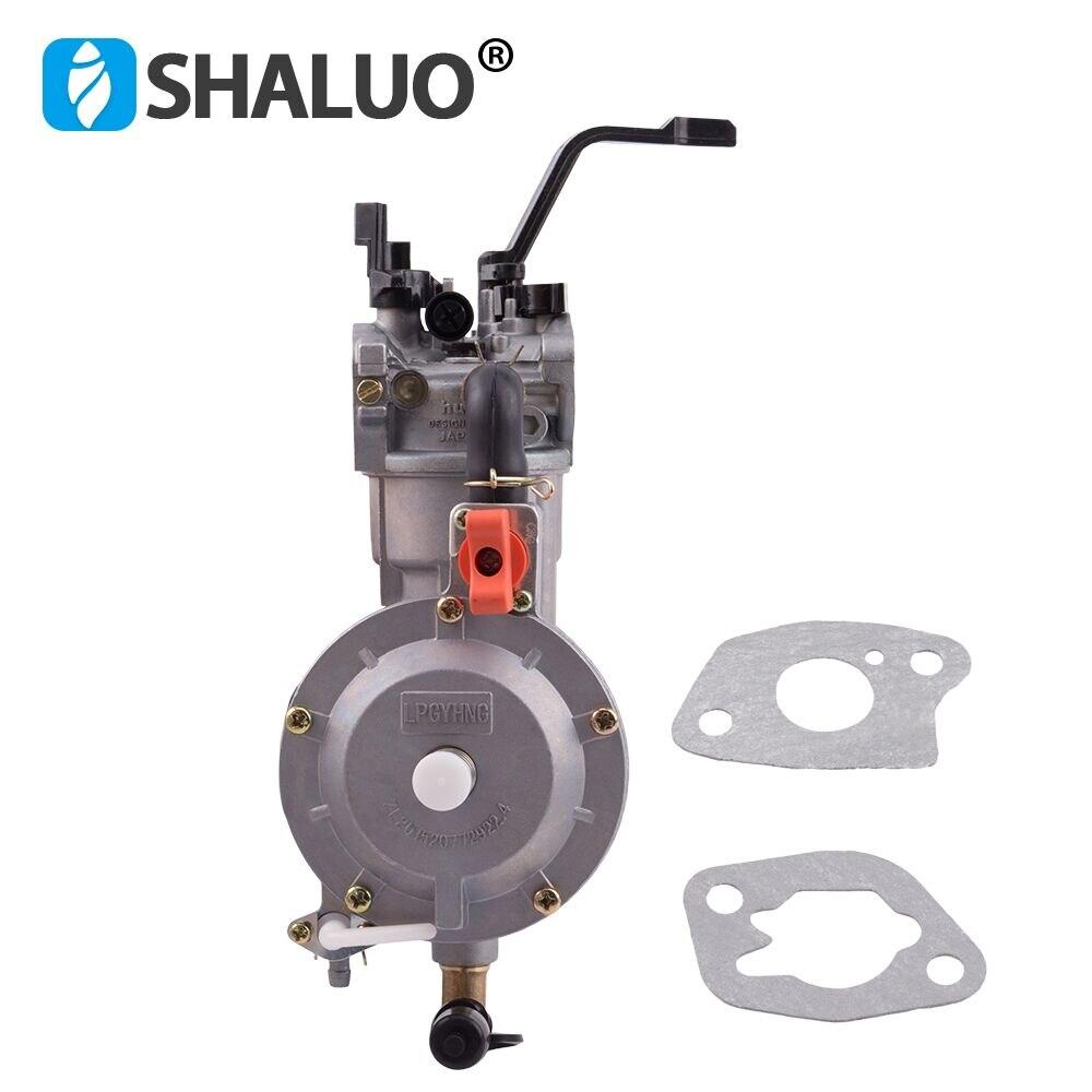 LPG 168 карбюратор двойного топлива LPG NG конверсионный комплект для 2 кВт 3 кВт 168F 170F бензиновый генератор двойной топливный карбюратор горячая распродажа