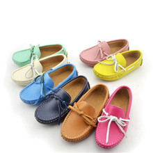 New Children Shoes Loafers Baby Toddler Casual Moccasins Princess Girls Boys Genuine Leather Parental Dress Shoes Kids 02B tooth avulsion in children parental awareness