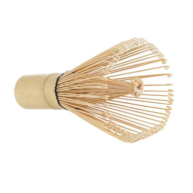 Bamboo Matcha Whisk Set Includes Chasen Tea Spoon Chashaku Traditional Tea Accessories for Janpanese Tea Ceremony and Daily Use
