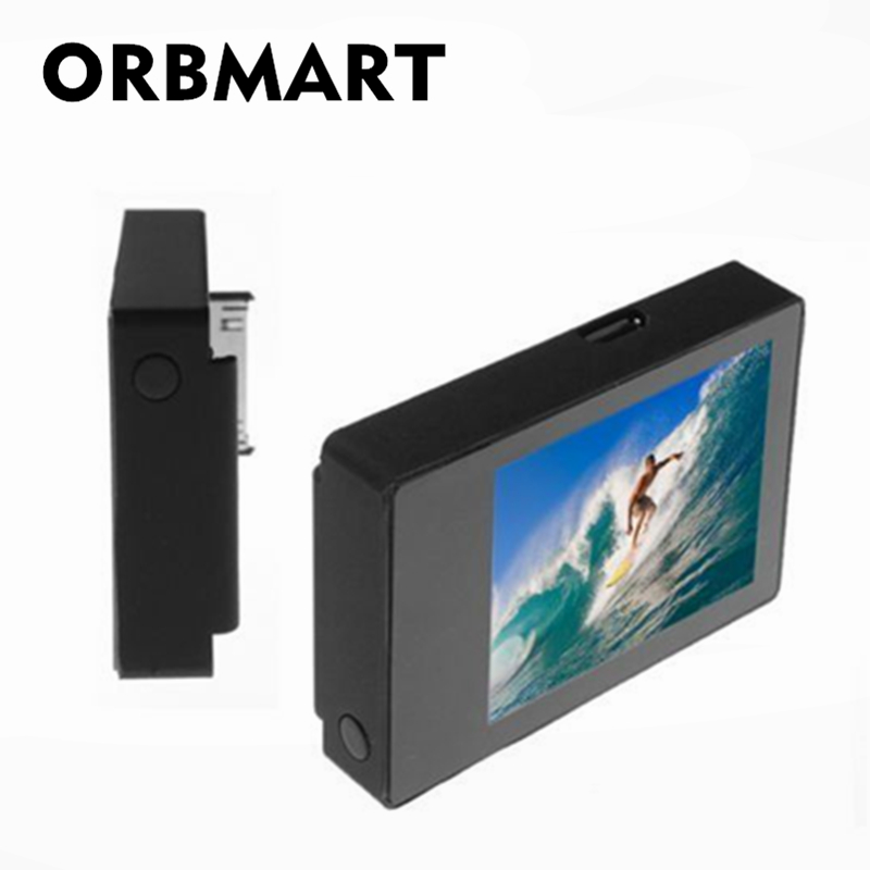 ORBMART LCD BacPac Display Viewer Monitor Non touch External Screen For GoPro Hero 3 3+ 4 Sport Cameras