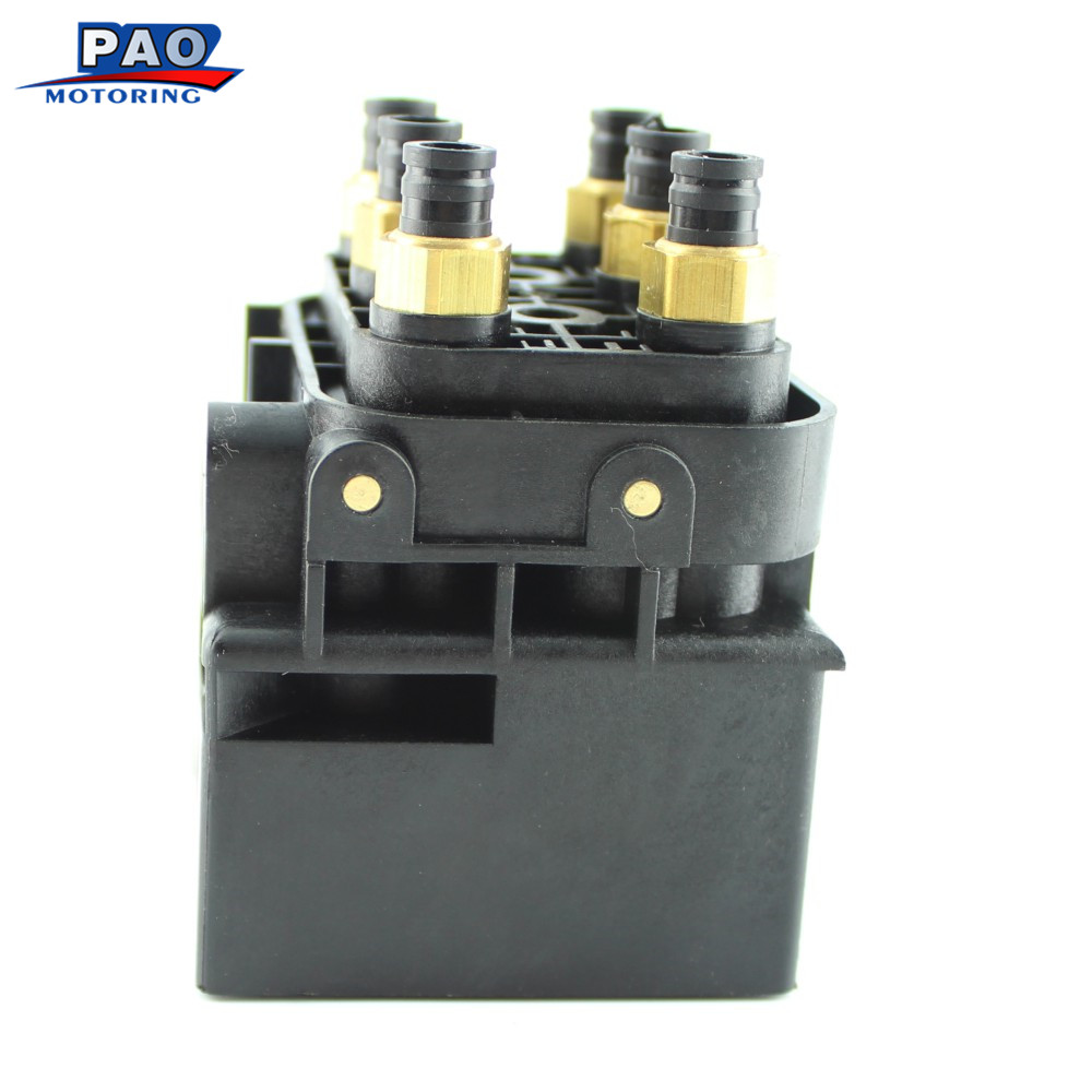 New Valve Block Air Suspension Air Supply For Volkswagen Touareg Q7 4L 2004 2010 7L0698014 4L0698007C