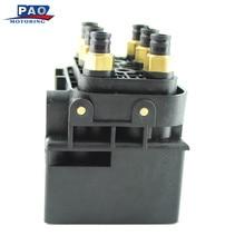 Новый Клапан блок пневматической подвеской подачи воздуха для Volkswagen Touareg Q7 4l 2004-2010 7l0698014 4l0698007c