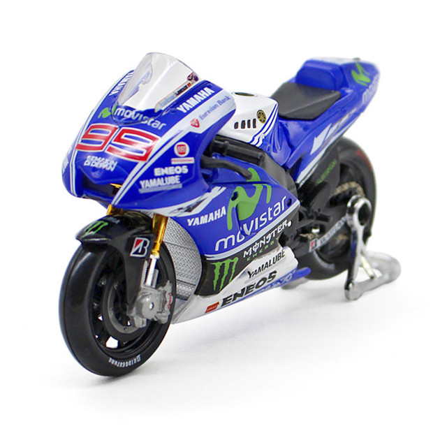 Maisto 1:18 Motor Cycle Yamaha Ducati Model Metal & Alloy Yamaha Moto GP Mini Racing Motorcycle Toys Simulation Car Toy Gift