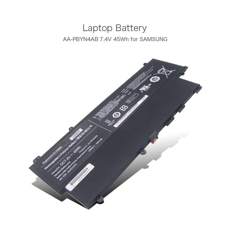 7.4 V 45Wh AA-PBYN4AB AA-PLWN4AB Ultrabook li-polymère Batterie pour Samsung 530U 530U3C NP530U3C NP530U3B 530U3B-A01 BA43-00336A PC
