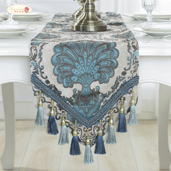 Proud Rose European Table Runner Pendant American Chenille Table Flag Luxury Decoration Table Flag TV Cabinet Cover Cloth