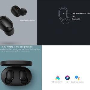 Image 4 - Xiaomi Redmi Airdots TWS sans fil bluetooth écouteur stéréo basse BT 5.0 réduction de bruit casque avec micro mains libres contrôle du robinet