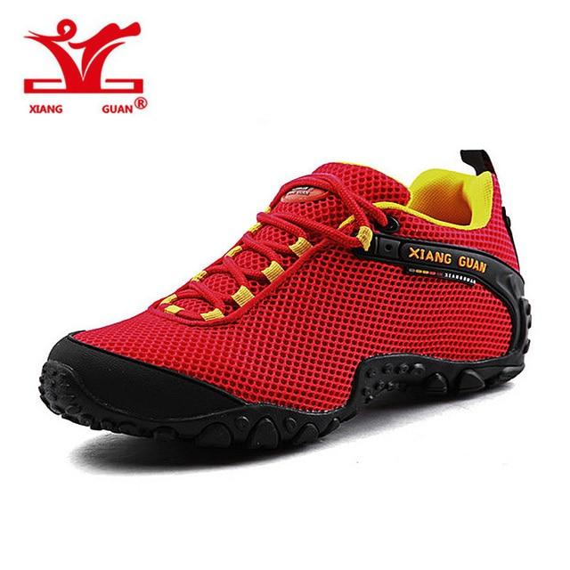 eff31e2a0c XIANGGUAN Zapatos de Trekking Impermeables Para la Mujer Amante Escalada  Mujer Senderismo Deporte Zapatillas Para Caminar