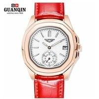 Fashion Girl Women Watch Guanqin Watch Woman Quartz Luxury Girl Watches 2016 Waterproof Watches Clock Dress