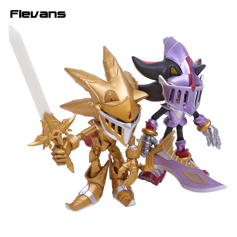 Sonic the Hedgehog Toys Sonic and the Black Knight Excalibur Sonic / Sir Lancelot PVC Action Figure Collectible Model Toy sir lancelot where are you 6