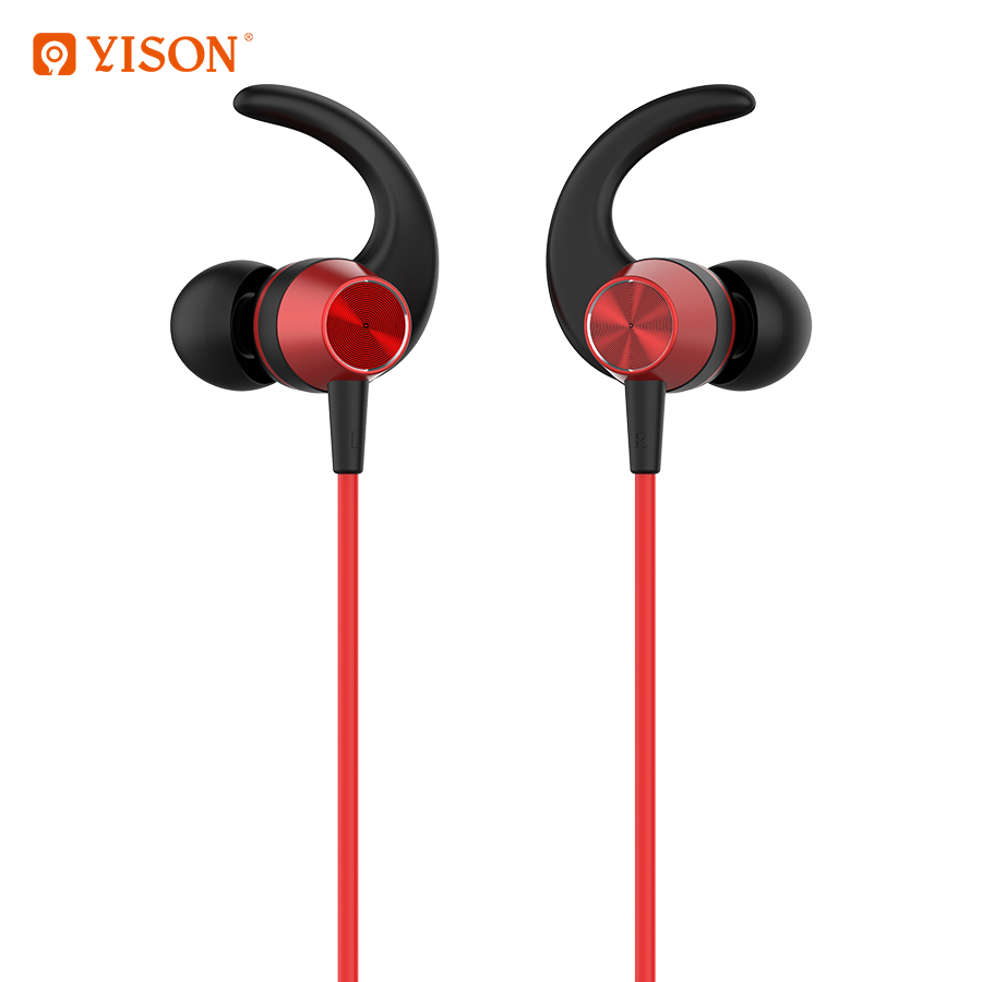 Yison neue E14 <font><b>neck</b></font>-montiert magnetische metall drahtlose <font><b>Bluetooth</b></font> headset sport <font><b>Bluetooth</b></font> headset für alle Smart-Phone iPhone image