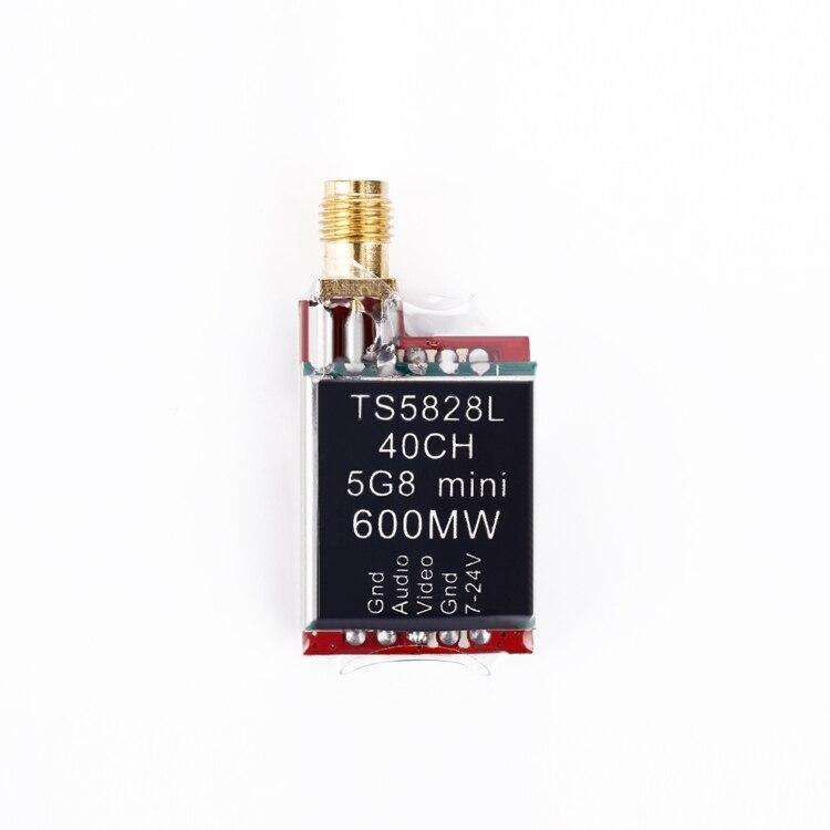 TS5828L Micro 5 8G 600mW 40CH Mini FPV Transmitter with Digital Display