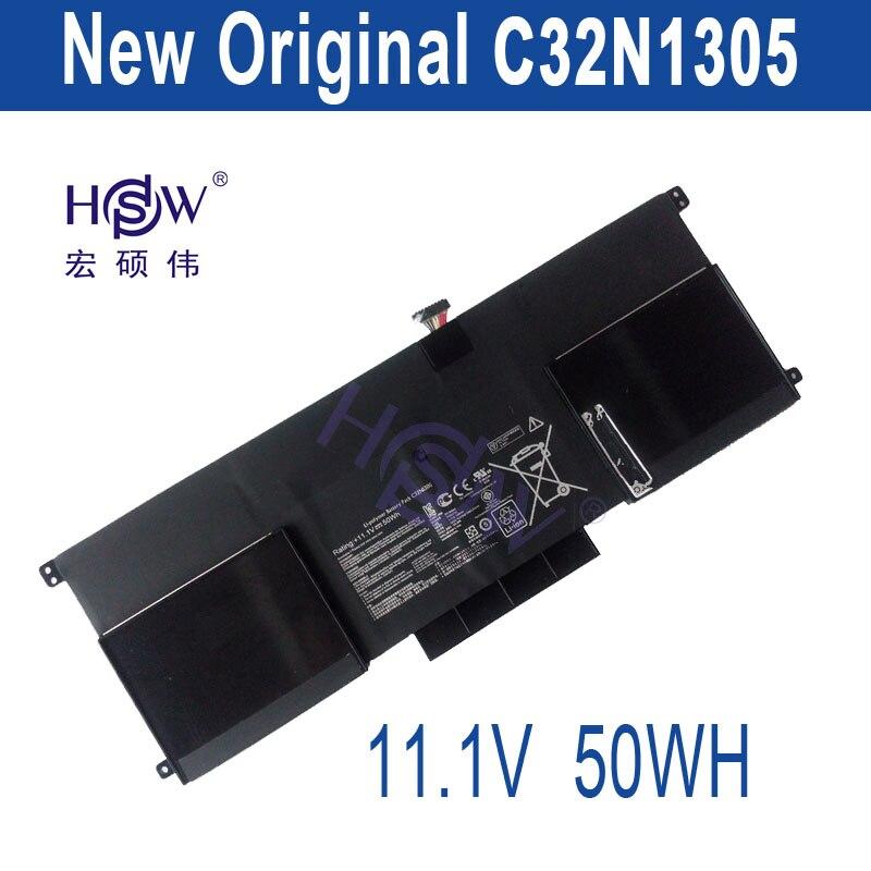 HSW New 50Wh   genius  C32N1305 Battery for ASUS Zenbook Infinity UX301LA Ultrabook Laptop bateria akku