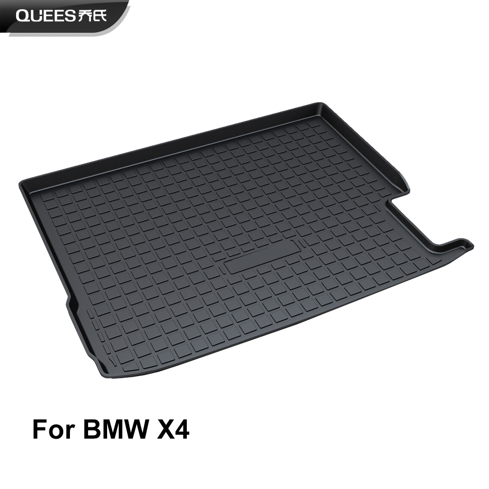 QUEES Custom Fit Cargo Liner Boot Tray Trunk Floor Mat for BMW X4 F26 2014 2015