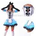 Alice in Wonderland Costume Adult Lolita Dress Wench Maid Cosplay Fantasia Carnival Halloween for Women Outfit