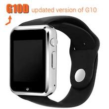 2016ใหม่g10d smart watchนาฬิกาสนับสนุนซิมการ์ดpedometerนอนติดตามinteligente s mart w atchนาฬิกาข้อมือสำหรับโทรศัพท์android